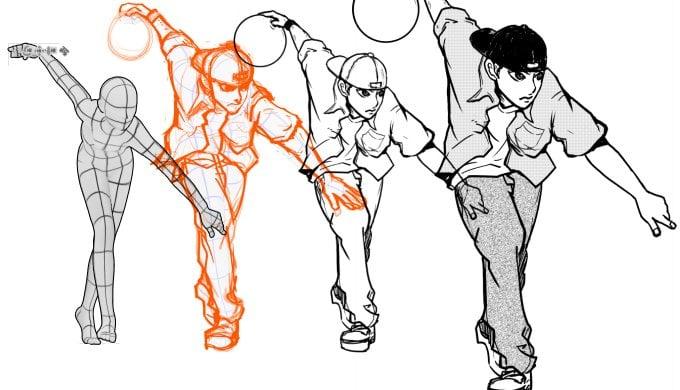ボウリング漫画 3Ⅾ メイキング